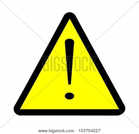Exclamation Warning Sign