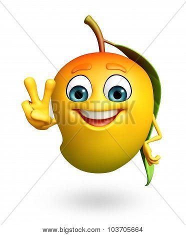 Cartoon Character Of Mango