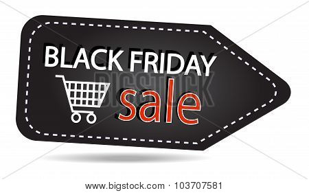 Black Friday Sales Tag