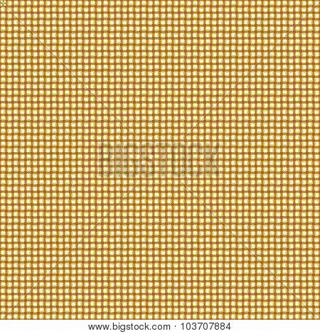 Seamless Gold Interweaving Background.