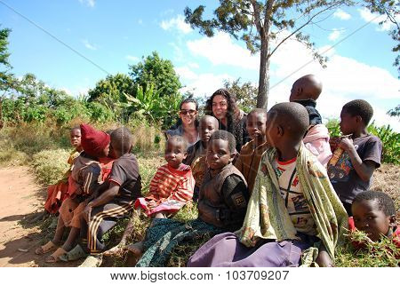Children Of Tanzania Africa