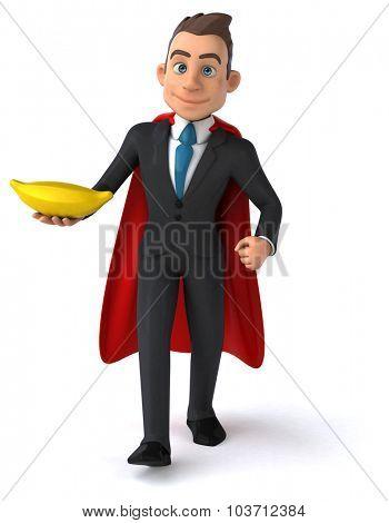 Fun business man