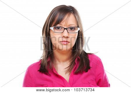 Woman With Eyeglasses