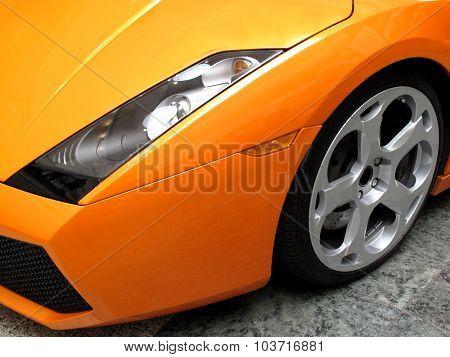 Prestige sports car