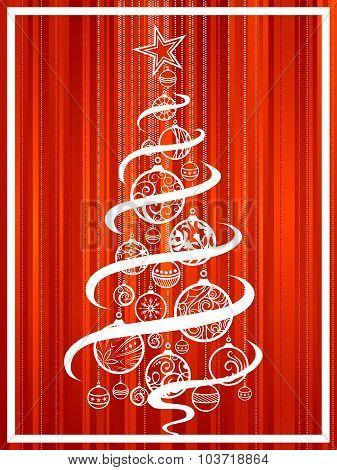 Christmas Tree Of Balls.
