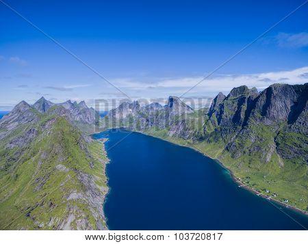 Aerial Fjord