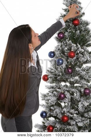 Decorating Office Tree