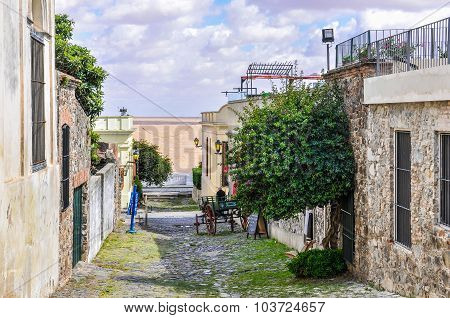 Street View In Colonia Del Sacramento, Uruguay