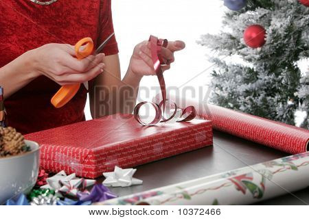 Wrapping Holiday Presents