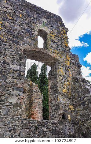 House Ruin, Colonia Del Sacramento, Uruguay