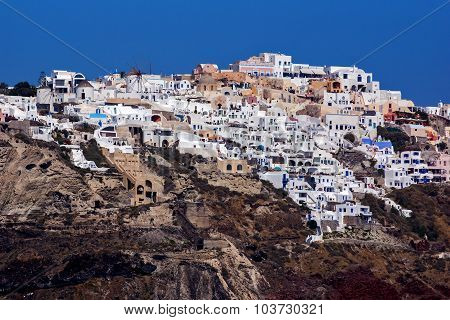 Town of Ia, Santorini, Thira,  Cyclades Islands
