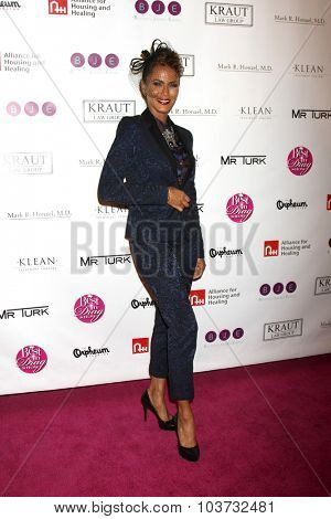 LOS ANGELES - OCT 4:  Nicole Ari Parker at the Best In Drag Show at the Orpheum Theatre on October 4, 2015 in Los Angeles, CA