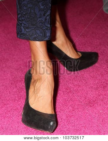 LOS ANGELES - OCT 4:  Nicole Ari Parker (shoe detail) at the Best In Drag Show at the Orpheum Theatre on October 4, 2015 in Los Angeles, CA