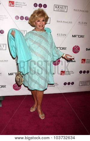 LOS ANGELES - OCT 4:  Ruta Lee at the Best In Drag Show at the Orpheum Theatre on October 4, 2015 in Los Angeles, CA