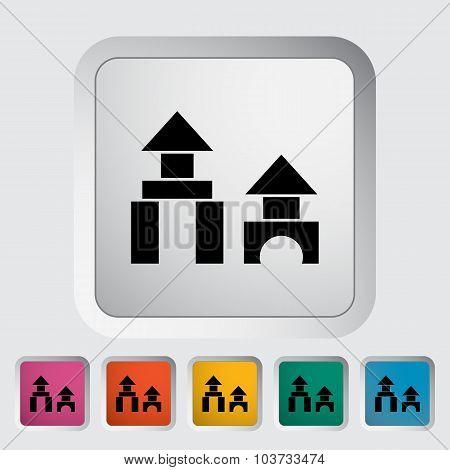 Building block icon.