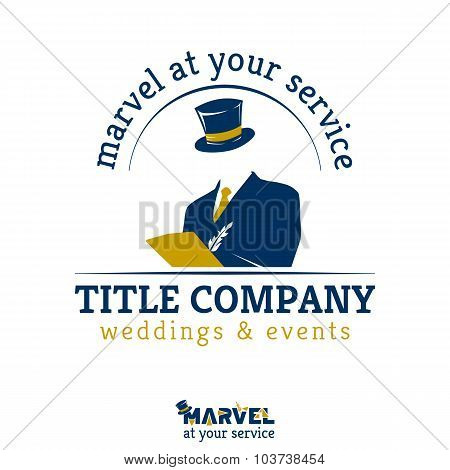 Template For Weddings And Events Company