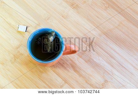 Cup Of Healthy Green Tea