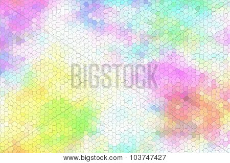Colorful stained glass background