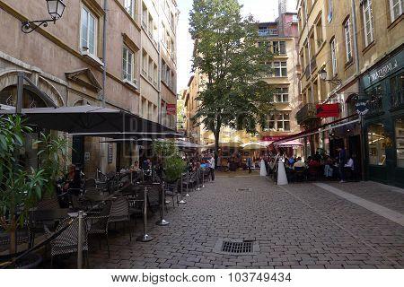 Place De La Baleine - Vieux Lyon France