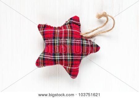 Decorative Fabric Star