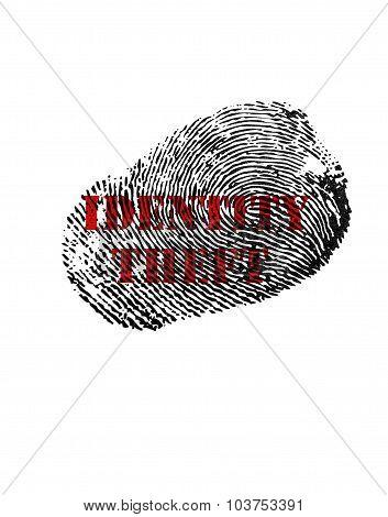 Identity Theft Print
