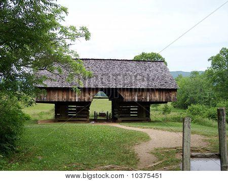 Historic Barn Cades Cove Great Smoky Mountains