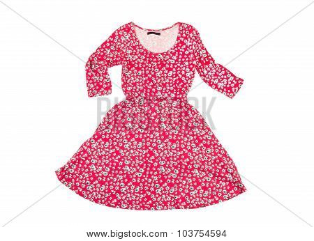 Beautiful Female Flowered Dress