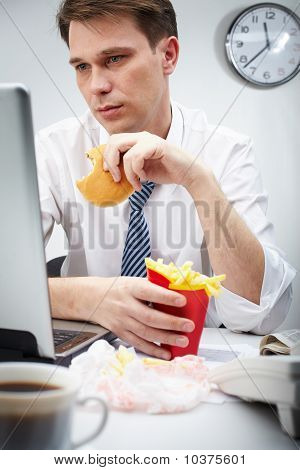 Eating At Work