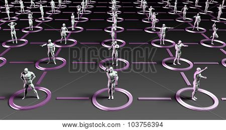 Social Media Marketing with Crowd Communicating Over the Net