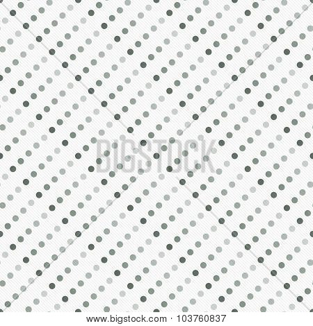 Gray Multicolored And White Polka Dot  Abstract Design Tile Pattern Repeat Background