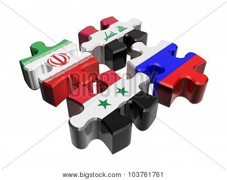 Anti-terrorist Coalition In Syria