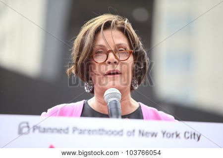 Planned Parenthood co-chair Jill Lafer