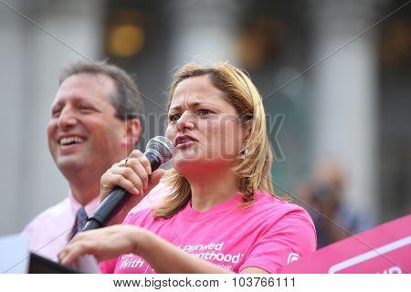 NY council speaker Melissa Mark-Viverito