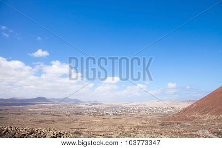 Fuerteventura, Canary Islands, Path From Lajares To Calderon Hondo
