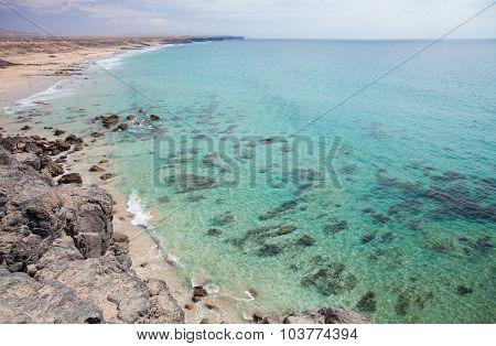 Fuerteventura, Canary Islands, Playa Del Castillo