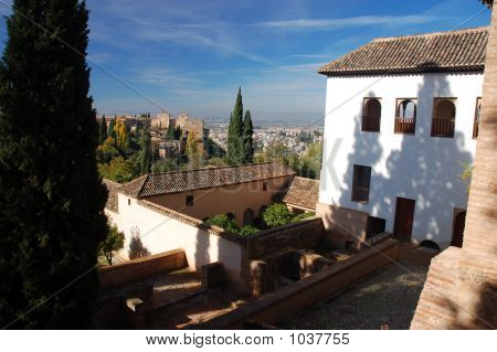 View Over Alhambra Palace
