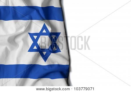 Waving Flag Of Israel, Middle East