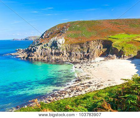 Portheras Cove Cornwall