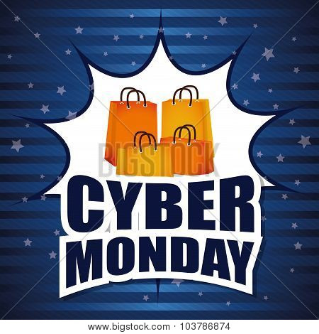 Cyber monday ecommerce design