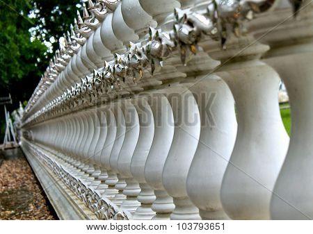 Wat Rong Khu in Chiang Rai, Thailand