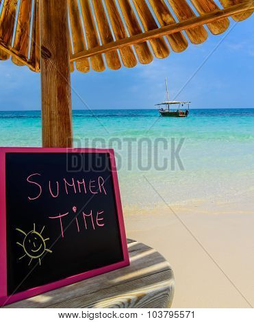 Summer Time Blackboard