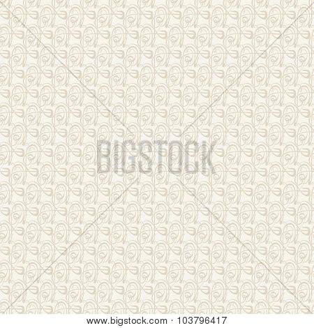 Vector Old lace, seamless pattern
