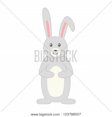 Rabbit. Rabbit isolated icon.