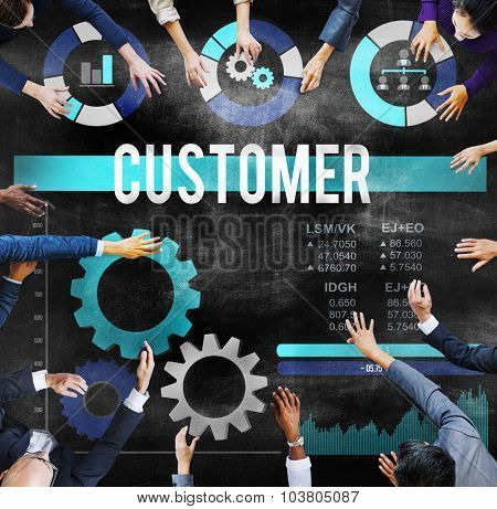 Customer Consumer Business Loyalty Motivation Concept