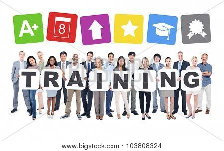 Business People Training Education Professional Occupation Development Mentoring