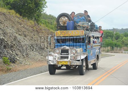 Jeepney in Palawan Phillipines