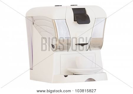 The image of a coffee-machine