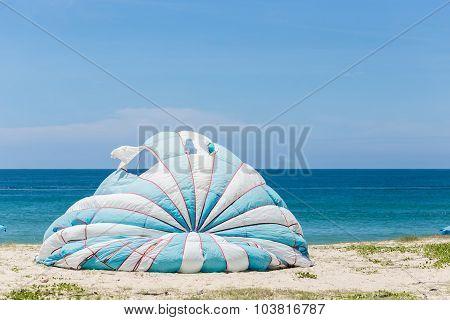 Parasailing At Karon Beach In Phuket, Thailand