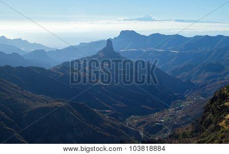 Gran Canaria, Caldera De Tejeda,afternoon Light