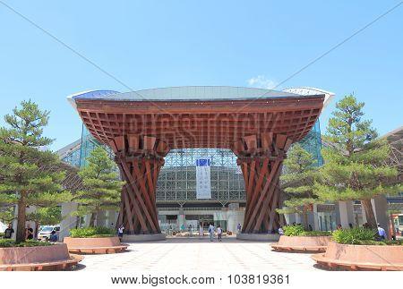 Kanazawa Station modern architecture Japan
